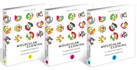 Molecular Cloning Fourth Edition, A Laboratory Manual, by Michael R. Green and Joseph Sambrook